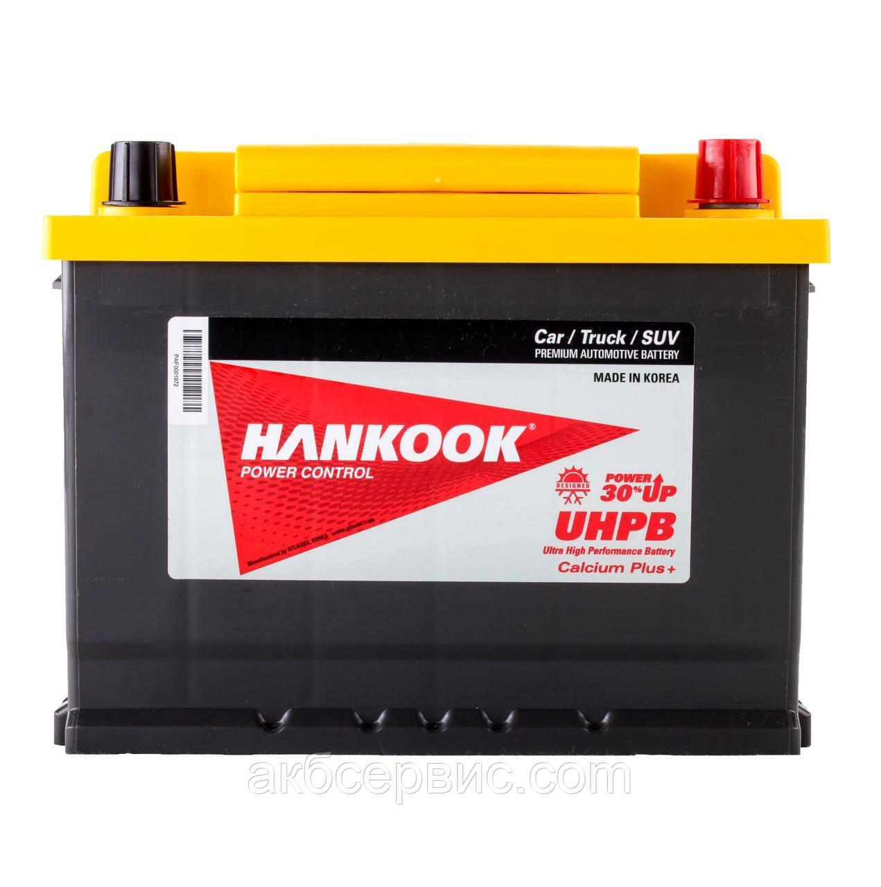 Аккумулятор автомобильный Hankook 6СТ-68 АзЕ UMF56800