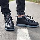 Мужские зимние ботинки Native FITZSIMMONS Black Grey / Нейтив Фитсимонс Черные Серые, фото 5