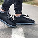 Мужские зимние ботинки Native FITZSIMMONS Black Grey / Нейтив Фитсимонс Черные Серые, фото 3