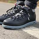 Мужские зимние ботинки Native FITZSIMMONS Black Grey / Нейтив Фитсимонс Черные Серые, фото 4
