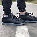 Мужские зимние ботинки Native FITZSIMMONS Black Grey / Нейтив Фитсимонс Черные Серые, фото 2