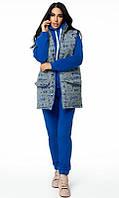 Спортивный костюм тройка 28427/2 44/46 синий, фото 1