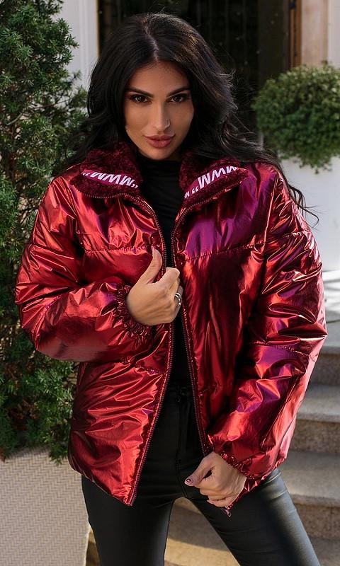 Куртка 856730/3 48/50 бордовый