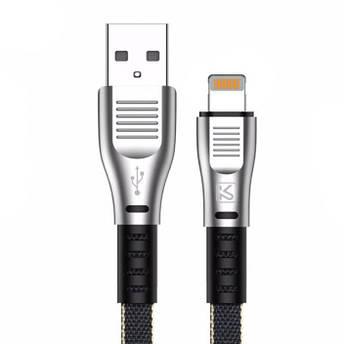 USB кабель Kaku KSC-100 USB - Lightning 1.2m - Black