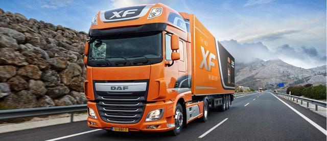 Ремонт грузовых автомобилей DAF - фото