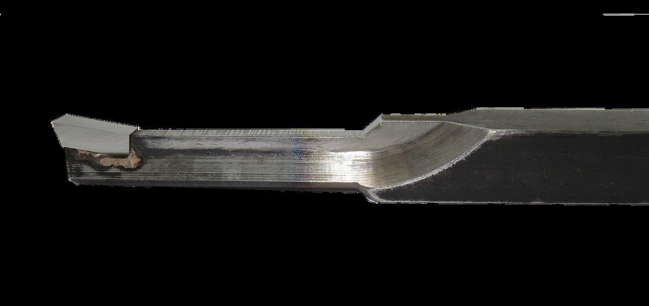 Резец долбежный 25х25х8х300 Р6М5 тип 3 - для шпоночных пазов