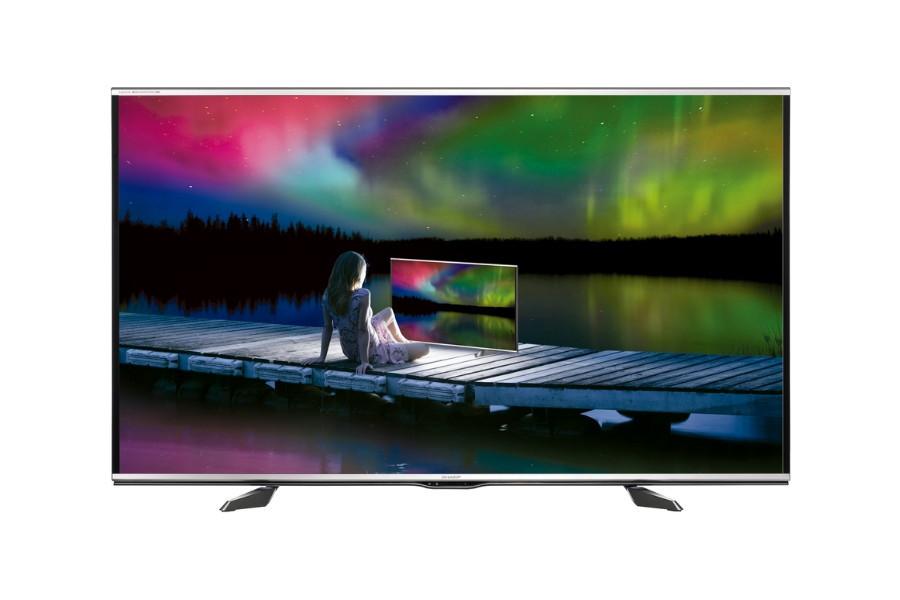 Телевизор Sharp LC-60UQ10E (Full HD / SmartTV / 800Hz / 3D / DVB-С/T/T2/S2)