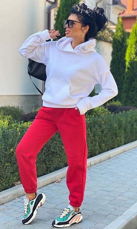Спортивный костюм 28405/1 42/44 красный
