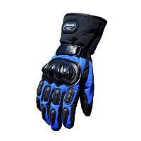 Зимові мотоперчатки Mad Bike TF-01 Синій, фото 1