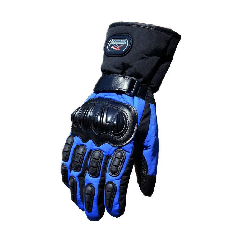 Зимние мотоперчатки Mad Bike TF-01 Синий