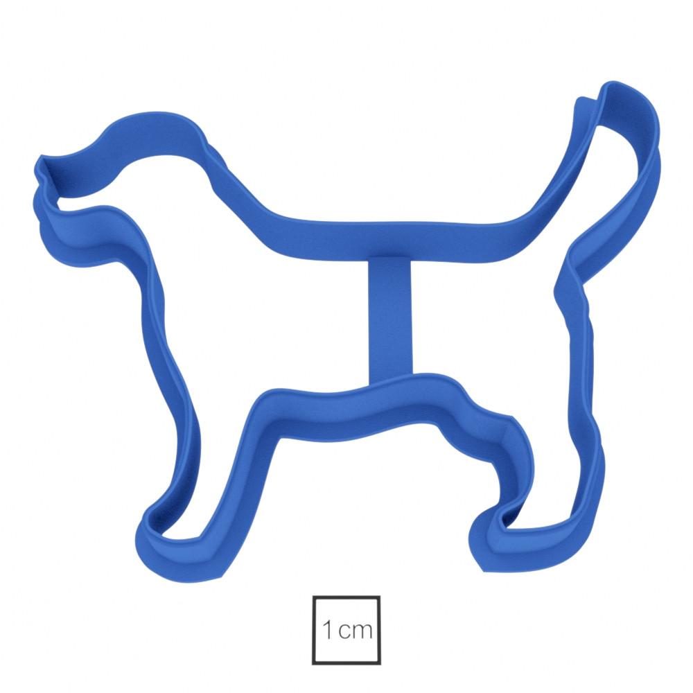 Висічка для пряників у вигляді пса