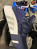 Мужские кроссовки Adidas Equipment EQT Blue, кроссовки адидас эквипмент ект чоловічі кросівки Adidas EQT Blue, фото 5