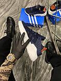 Мужские кроссовки Adidas Equipment EQT Blue, кроссовки адидас эквипмент ект чоловічі кросівки Adidas EQT Blue, фото 4