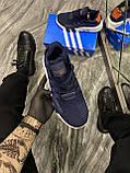 Мужские кроссовки Adidas Equipment EQT Blue, кроссовки адидас эквипмент ект чоловічі кросівки Adidas EQT Blue, фото 3
