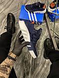 Мужские кроссовки Adidas Equipment EQT Blue, кроссовки адидас эквипмент ект чоловічі кросівки Adidas EQT Blue, фото 2