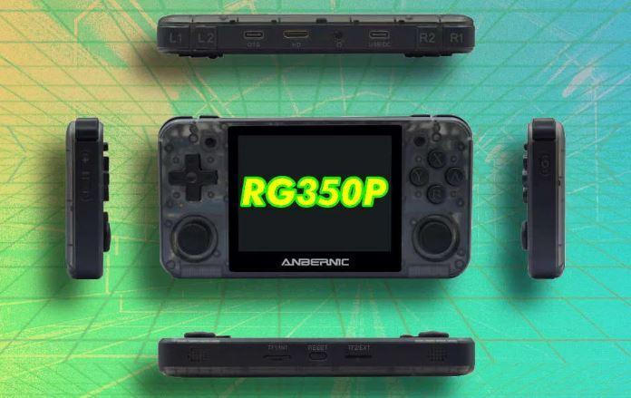 Новинка! Ігрова приставка Anbernic RG 350P