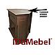 Каминокомплект трансформер с обогревом IDaMebel Barcelona технология LED мерцающих дров со звуком, фото 2