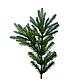 Искусственная елка «Россо-премиум» 2,1 м, комбинированная 210 см, литая ветка + пленка ПВХ, фото 2