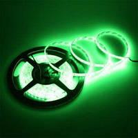Светодиодная лента SMD2835 120 д/метр IP33 (Зеленая) (714)
