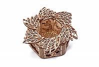 Деревянный конструктор Таинственный Цветок. Сувенир из дерева WoodTrick Таинственный Цветок (Опт, дропшиппинг), фото 1