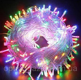 Гірлянда нитка світлодіодна 700 led, фото 2