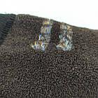 Носки женские махровые высокие новогодние GRAND 23-25р коричневые 20037741, фото 5