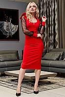 Коктельное женское модное платье (42-48р) ,доставка по Украине
