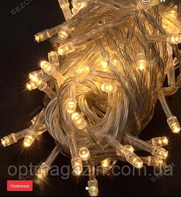 Гирлянда нить светодиодная 500 led, фото 2
