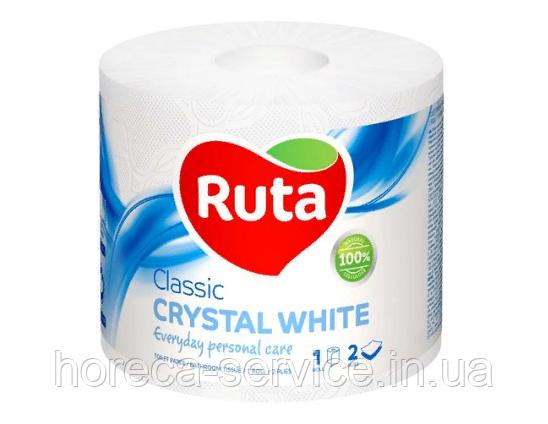 Туалетная бумага Ruta Classic белая 1 шт., фото 2
