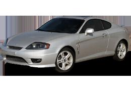 Брызговики для Hyundai (Хюндай) Tiburon Coupe II (GK) 2002-2008