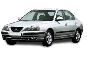 Брызговики для Hyundai (Хюндай) Elantra 3 (XD) 2000-2006
