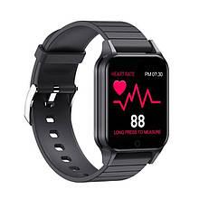 Смарт часы Smart Watch T96, температура тела, black
