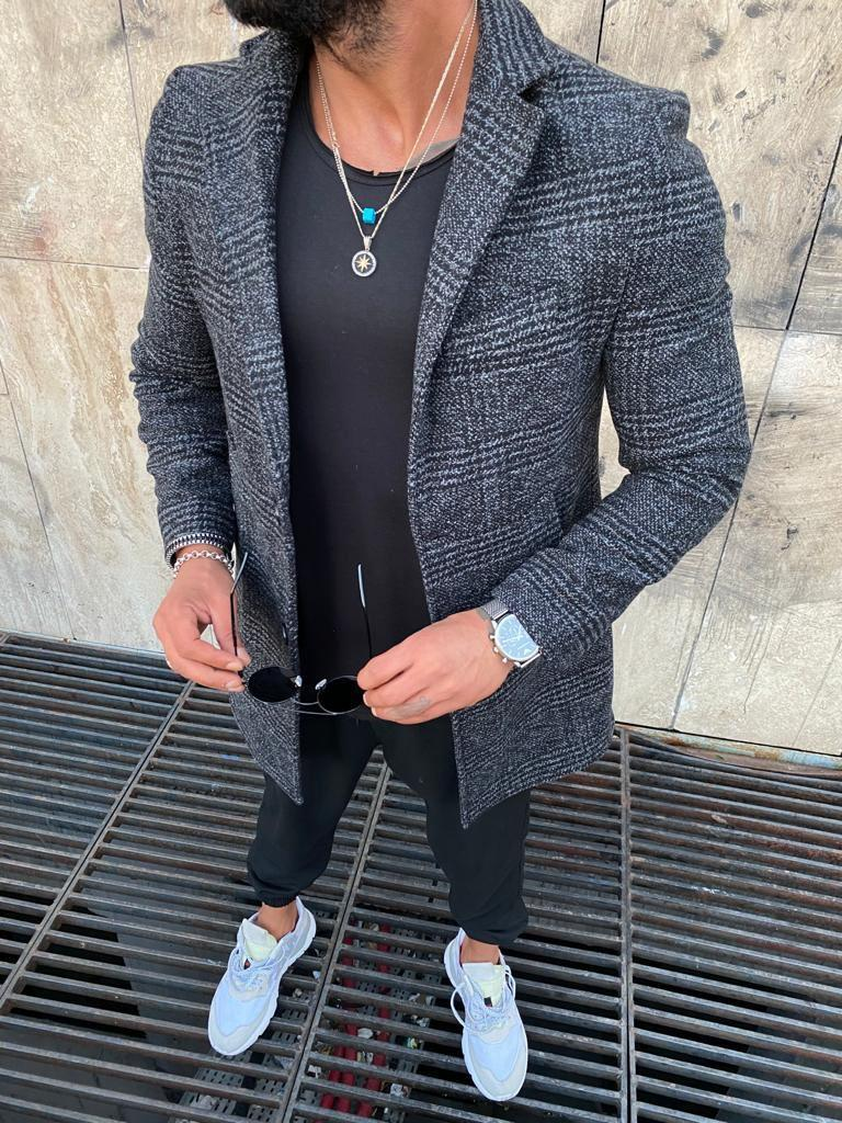 Чоловіче пальто, Сіре 2021