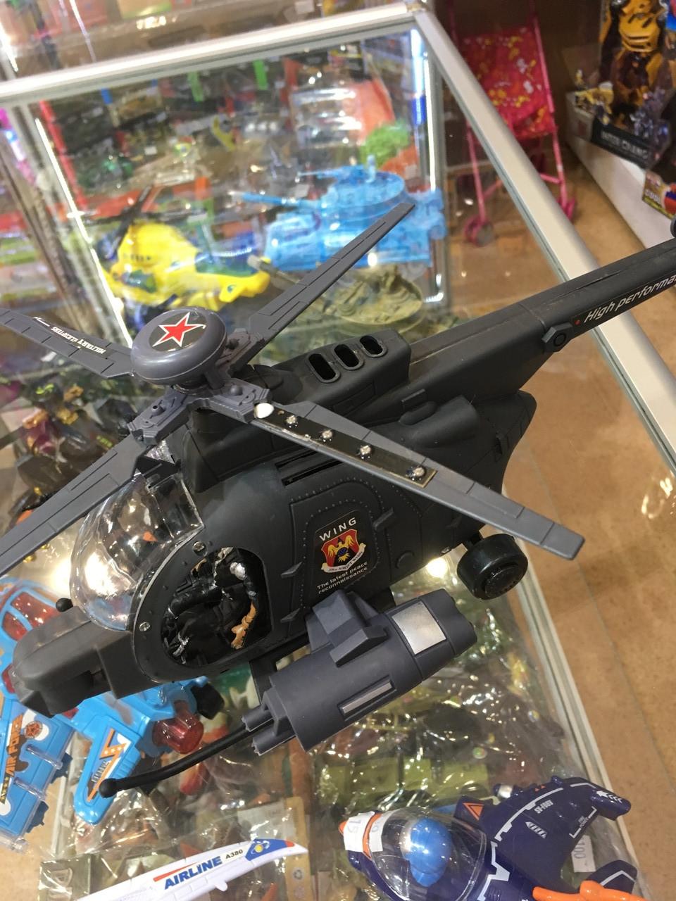 Детский Вертолет муз.06530