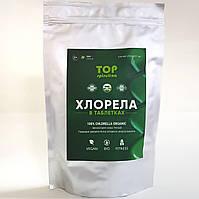 Органическая ТОП Хлорелла таблетки 500 г, озеро Ченхай