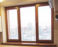 Деревянные окна - евроокна (сосна, дуб)