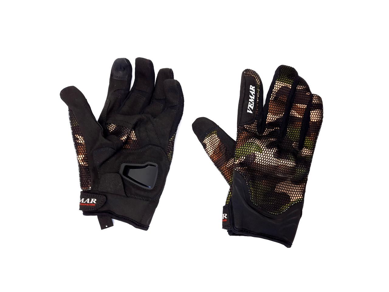 Перчатки VEMAR VE-173 сенсорный палец (size: M, хаки)