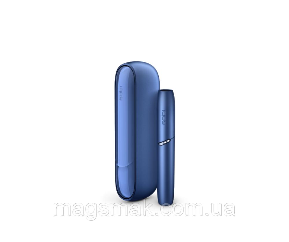 Устройство для нагревания табака IQOS 3 Duo Синий