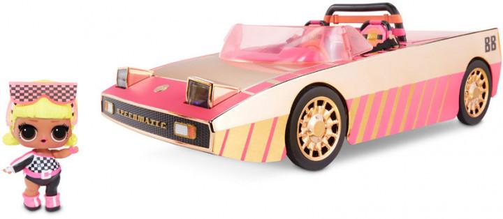L.O.L. Surprise! Car-Pool Coupe + Drag Racer (Кабриолет-бассейн-танцплощадка ЛОЛ 3 в 1 + кукла) 3+ (565222)