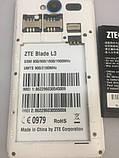 Смартфон ZTE Blade L3  на запчасти, фото 6