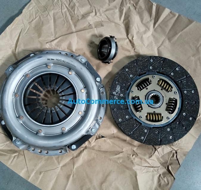 Сцепление VALEO кт. Hyundai HD65, HD72, Богдан А069, Хюндай HD (3.3L; 3.6L)