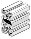 Станочный алюминиевый профиль Bosch REXROTH 45х90L