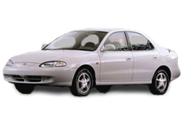 Брызговики для Hyundai (Хюндай) Elantra 2 (J2) 1995-2000