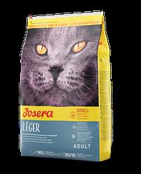 Корм Josera Leger Йозера Леже для стерилізованих кішок і кастрованих котів 2 кг
