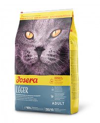Корм Josera Leger Йозера Леже для стерилізованих кішок і кастрованих котів 0,4 кг