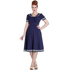 Винтажное платье 50-х годов на рост (160-175см)
