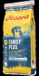 Корм Josera Family Plus Йозера Фемелі Плюс для цуценят, вагітних і годуючих собак15кг к|д