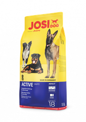 Корм Josera Josi Dog Active Йозера ЙозіДог Актив для дорослих активних собак 18кг кешбек та доставка