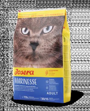 Корм Josera Marinesse Йозера Марінезе для кішок гіпоалергенний з лососем 2 кг Іграшка Крітцельменхен