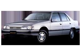 Брызговики для Hyundai (Хюндай) Sonata 2 (Y2) 1989-1993